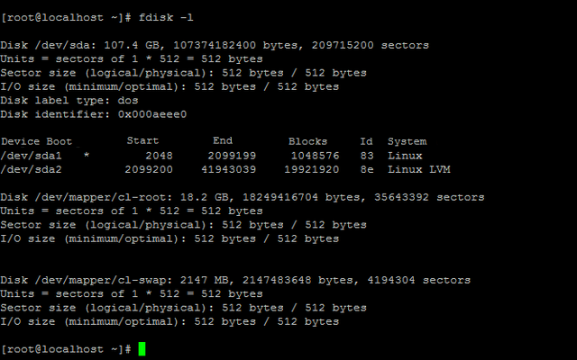 Increasing Size of BitrixVA LVM-Partition