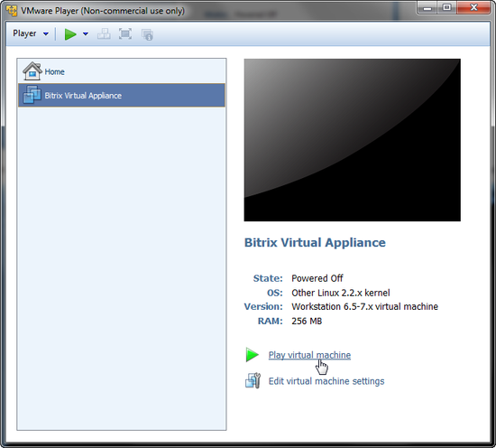 VMWARE VIRTUAL MACHINE 7.0.0