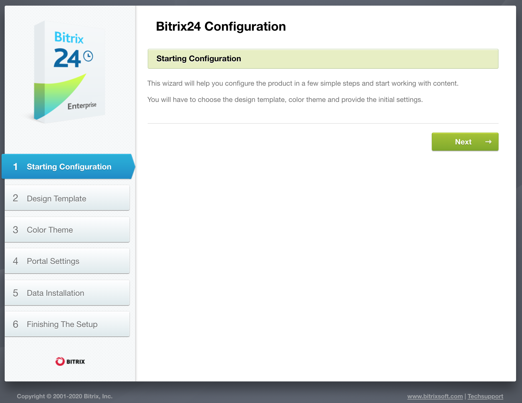 configuration bitrix