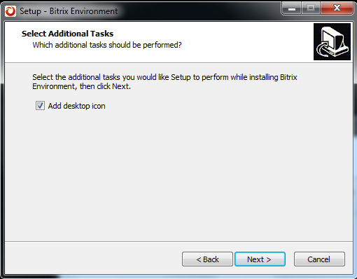 Additional setup tasks