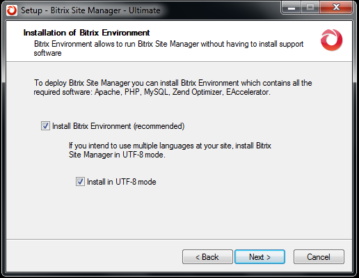 Setting up Bitrix Environment