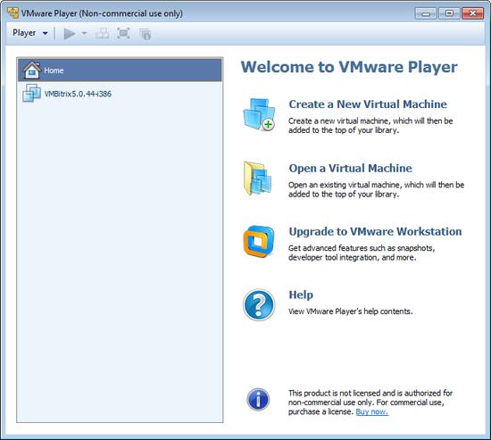 Installation of the VA VMware Edition