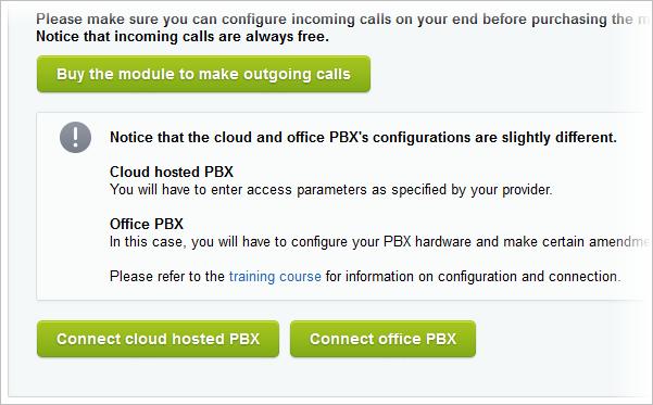 Office PBX Set Up