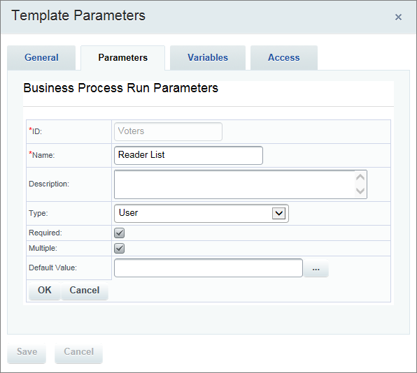 Using the Template Parameters